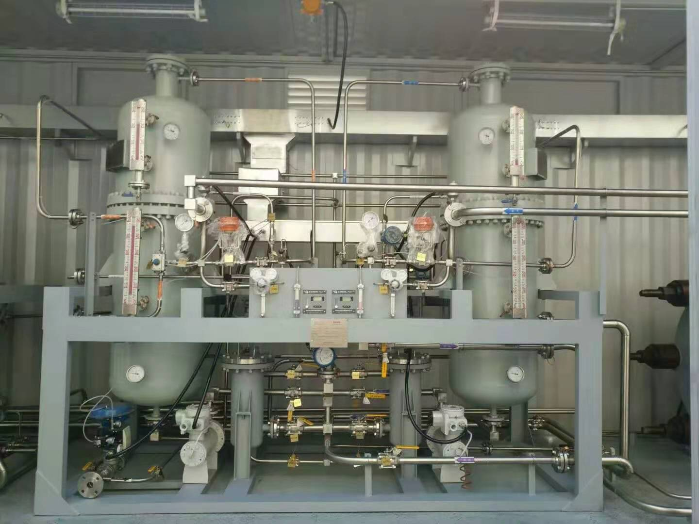 集装箱水电解制氢设备.Container type hydrogen production equipment by water electrolysis